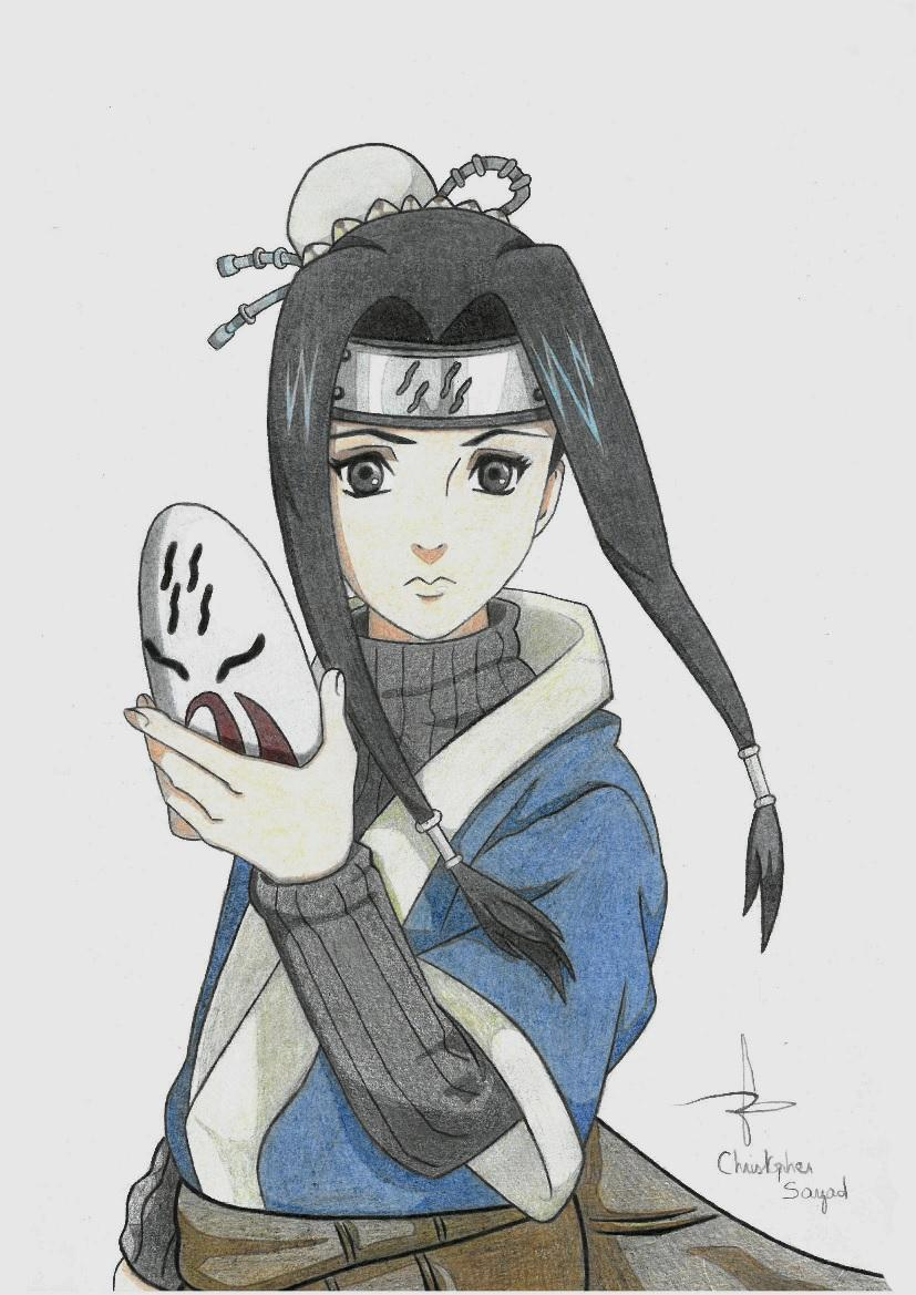 Naruto the way of naruto haku sans son masque aux - Naruto dessin couleur ...
