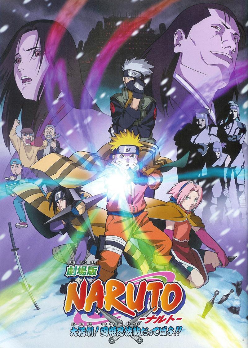 Películas de Naruto y Naruto Shippuden